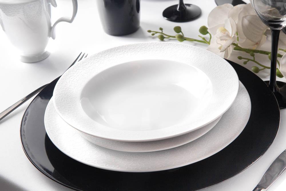 Zestaw obiadowy / serwis dla 6 osób porcelana MariaPaula Amore (18 elementów)