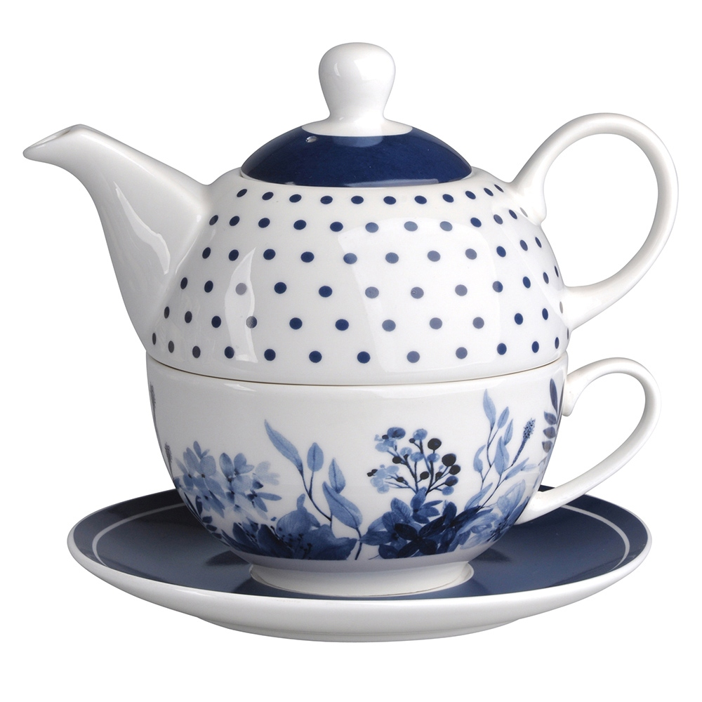 INFINITY BLUE ZESTAW TEA FOR ONE NBC OPASKA PVC