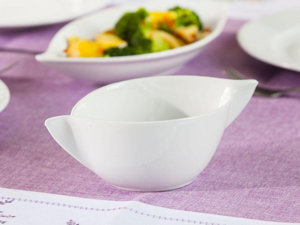 Bulionówka / flaczarka porcelanowa biała Altom Design