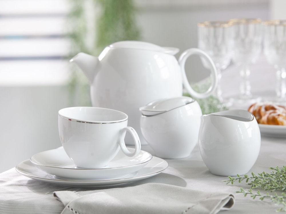Serwis / Zestaw do kawy na 12 osób Ćmielów Quebec (39 elementów)