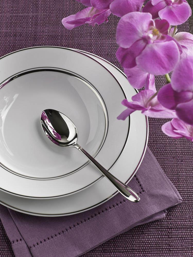 Serwis / Zestaw obiadowy na 12 osób porcelana MariaPaula Platynowa Linia