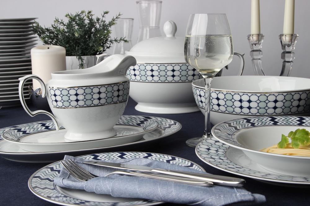 Serwis / Zestaw obiadowy na 12 osób porcelana MariaPaula Kantata