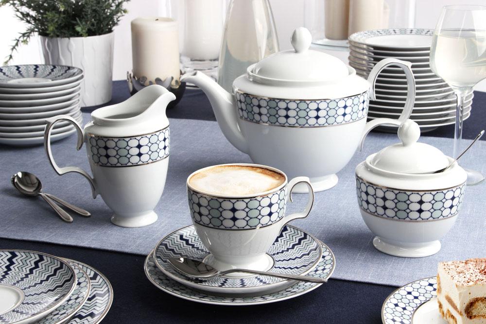 Serwis / Zestaw kawowy na 12 osób porcelana MariaPaula Kantata 12/39