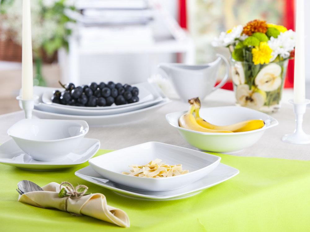 Zestaw obiadowy dla 12 osób porcelana Ćmielów Akcent 12/44