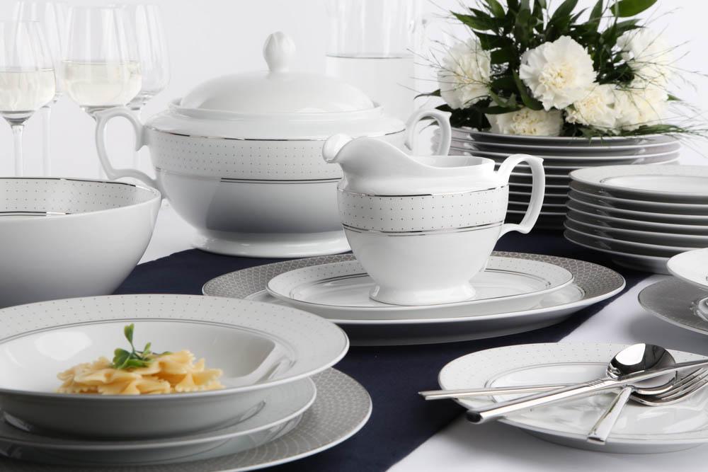 Serwis / Zestaw obiadowy dla 12 osób porcelana MariaPaula Sissi