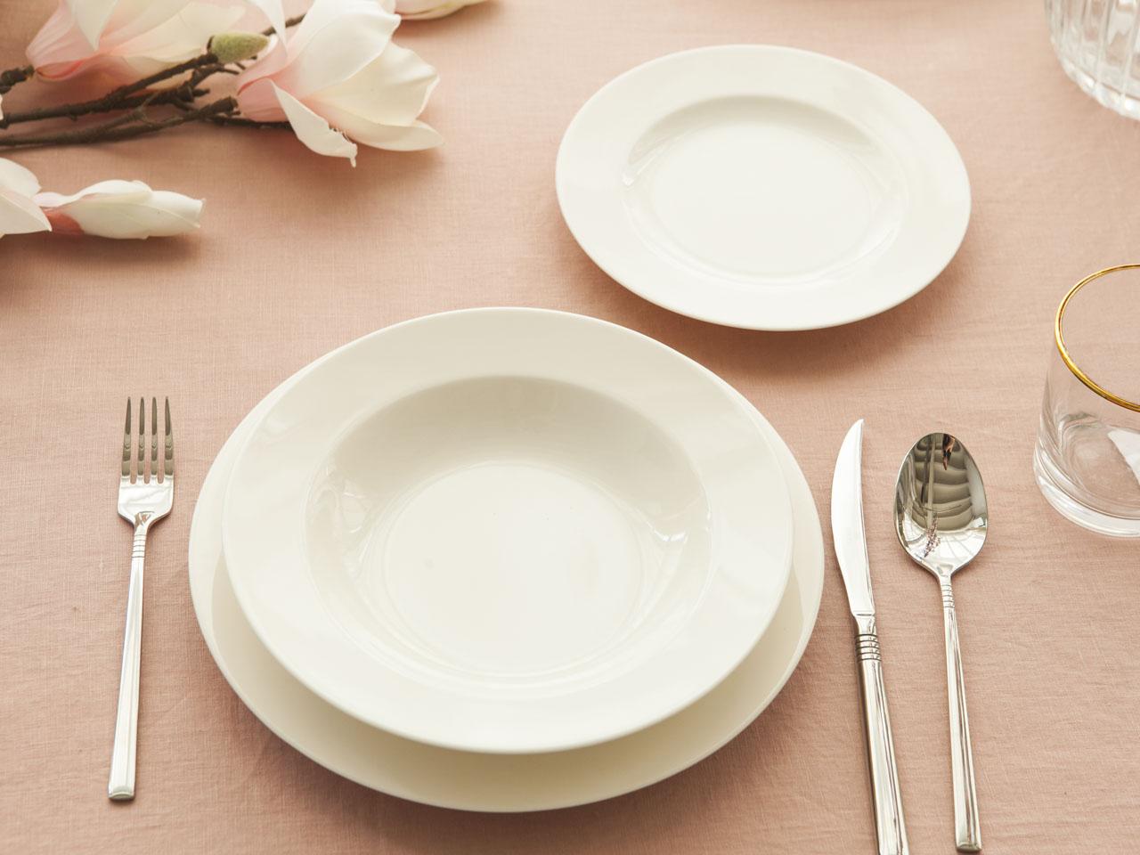 Serwis / Zestaw obiadowy na 6 osób MariaPaula Ecru Nova (18 elementów)
