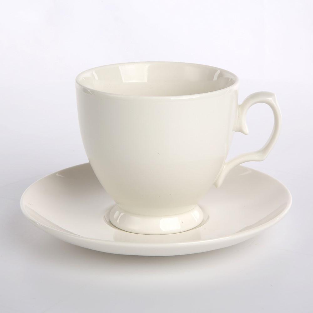 Zestaw kawowy dla 6 osób porcelana MariaPaula Biała 12 elementów (gatunek III)
