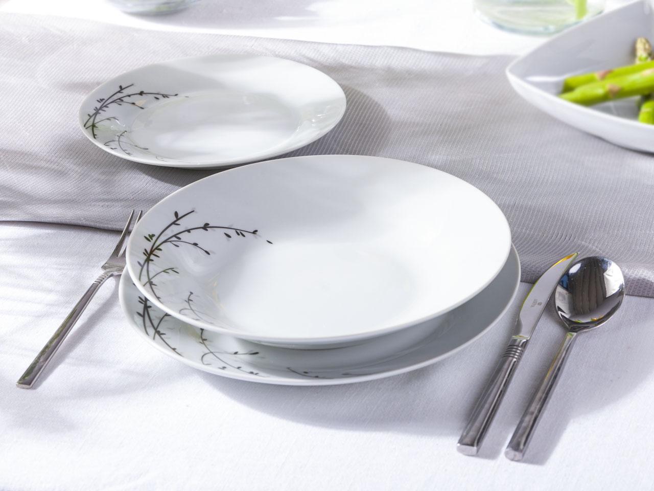 Zestaw obiadowy dla 6 osób Altom Design Inga (18 elementów)