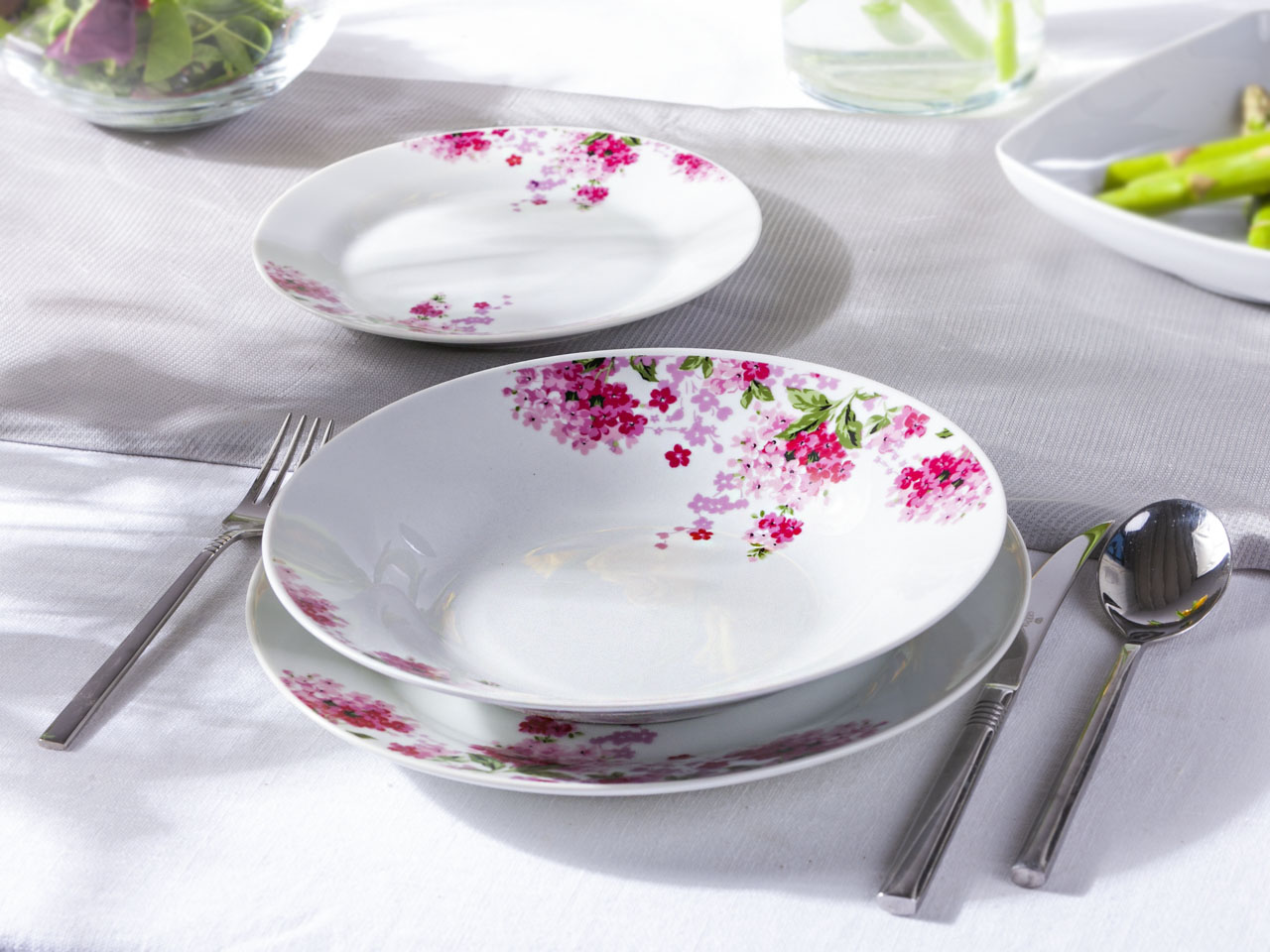 Zestaw obiadowy dla 6 osób Altom Design Diana (18 elementów)