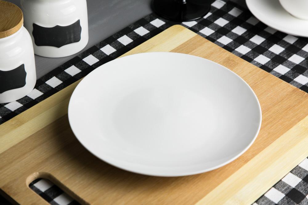 Talerz deserowy porcelana kremowa Altom Design Bella 20 cm
