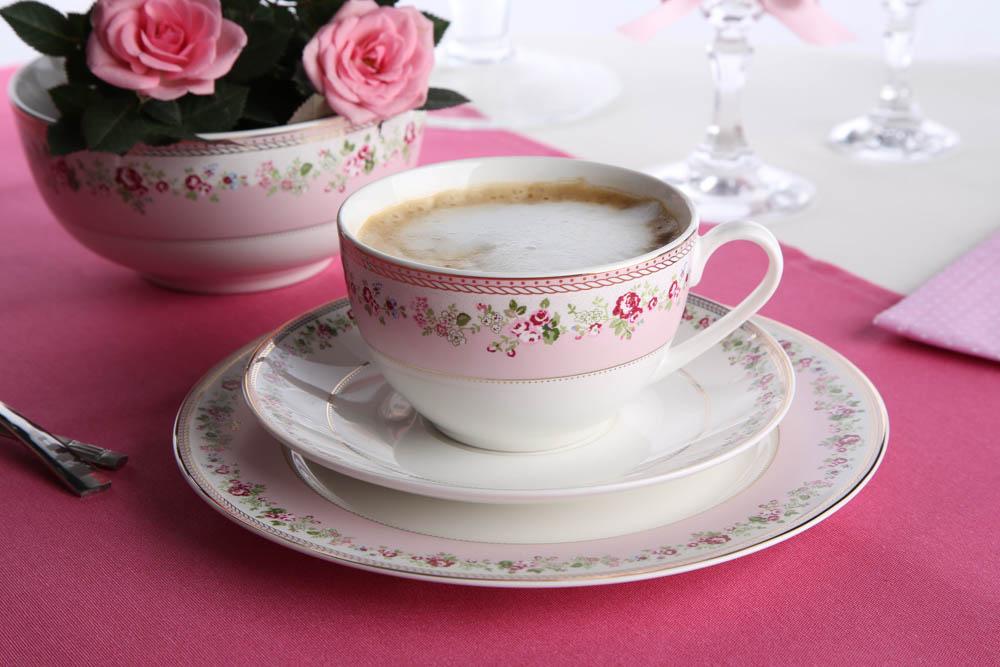 Talerz deserowy porcelana Altom Design Veronica 19 cm