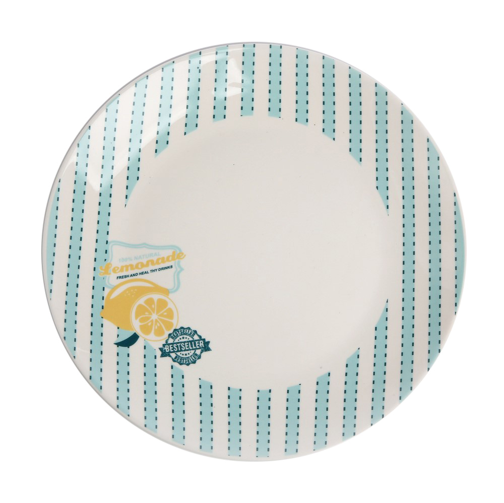 Talerz deserowy porcelanowy Altom Design Lemoniada 20 cm
