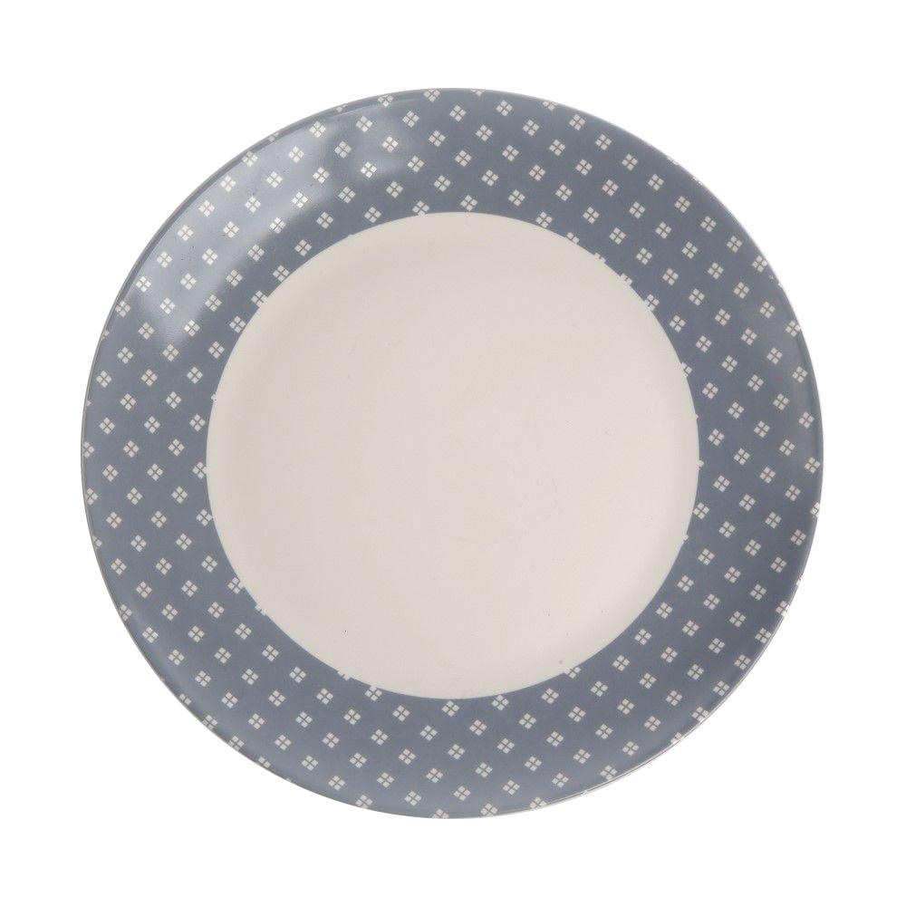Talerz deserowy porcelanowy Altom Design Lena 20 cm