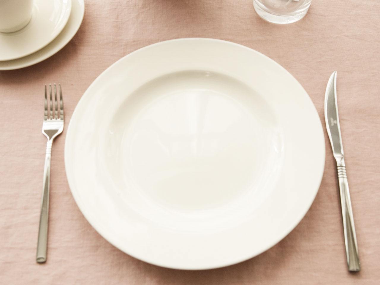 Talerz obiadowy porcelanowy MariaPaula Ecru Nova 26 cm