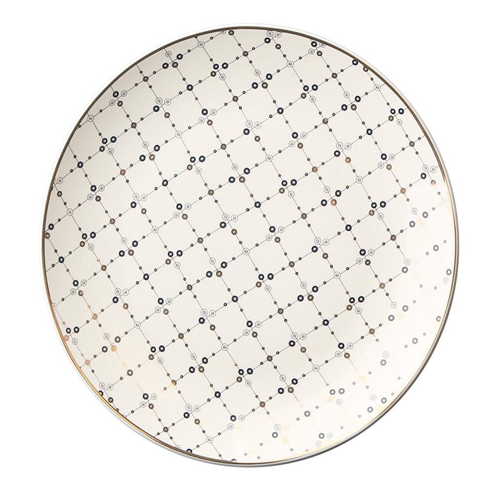 Talerz deserowy porcelanowy Altom Design Megan 19 cm