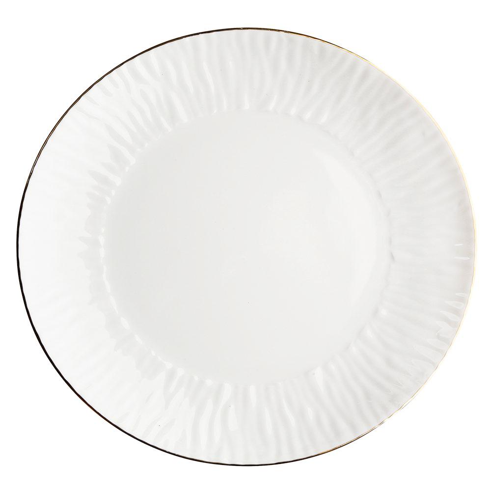 Talerz obiadowy / płytki MariaPaula Natura Złota Linia 28 cm