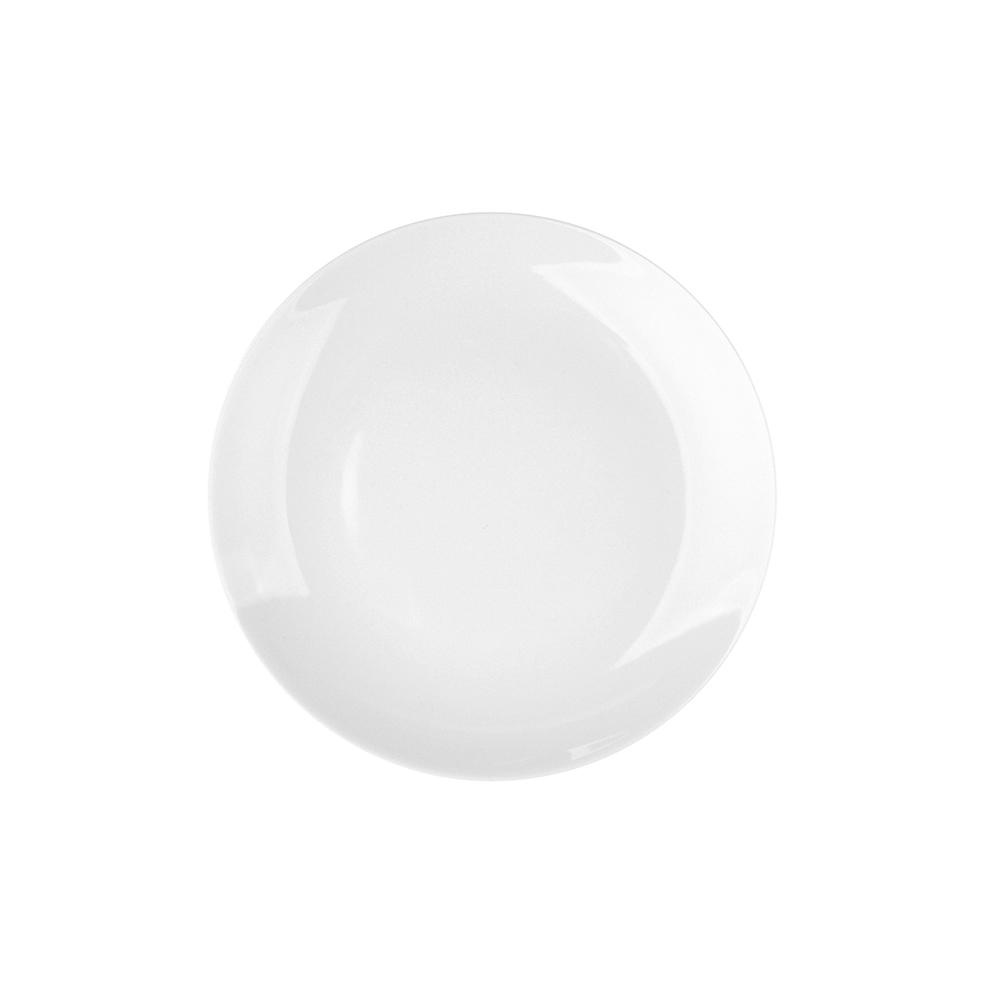 Talerz deserowy porcelana MariaPaula Moderna Biała 16,5 cm okrągły