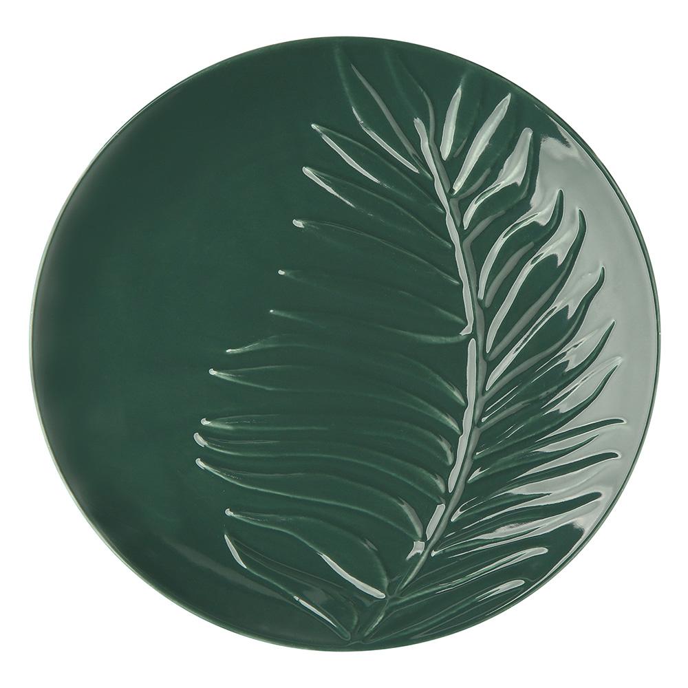 Tropical green 20 cm plate NBC