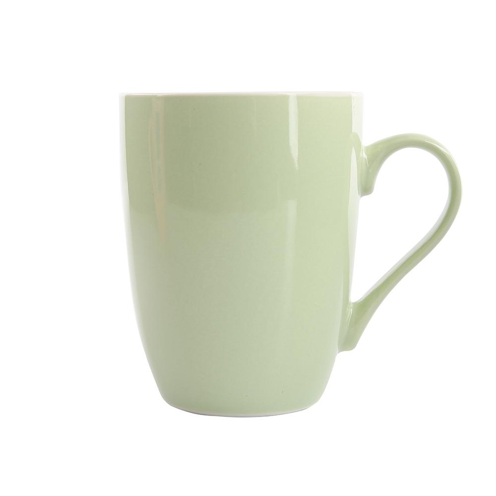 Kubek do kawy i herbaty porcelanowy Altom Design Monokolor Seledynowy 300 ml