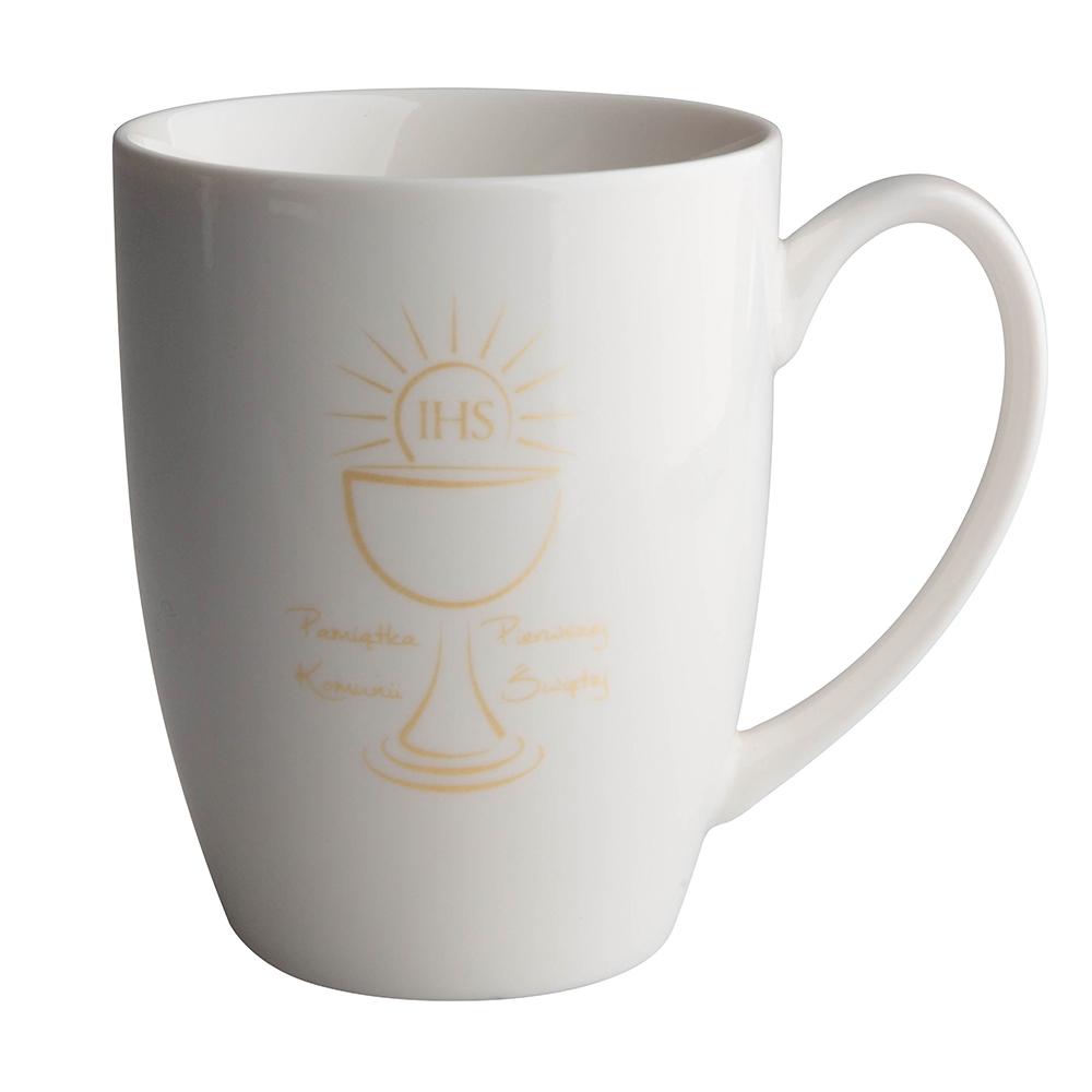 Kubek porcelanowy na prezent Altom Design I Komunia Święta 320 ml