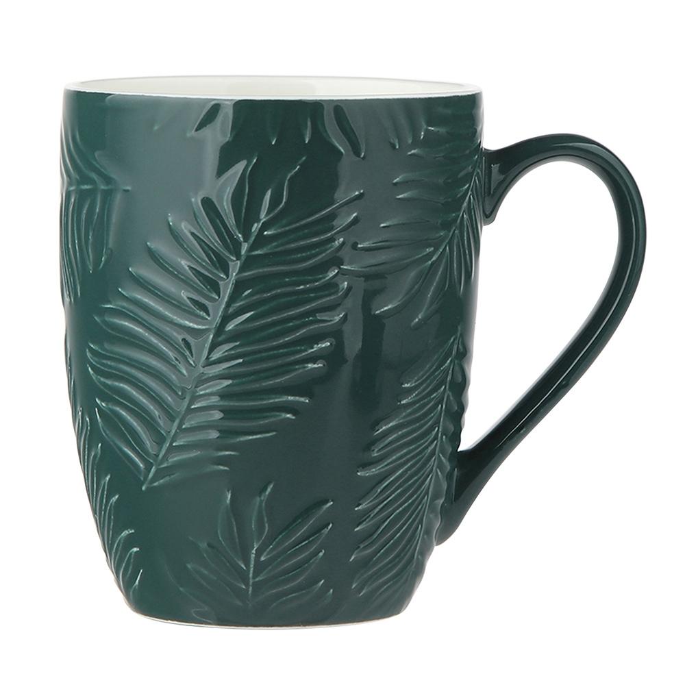 Tropical green 300 ml barrel mug NBC