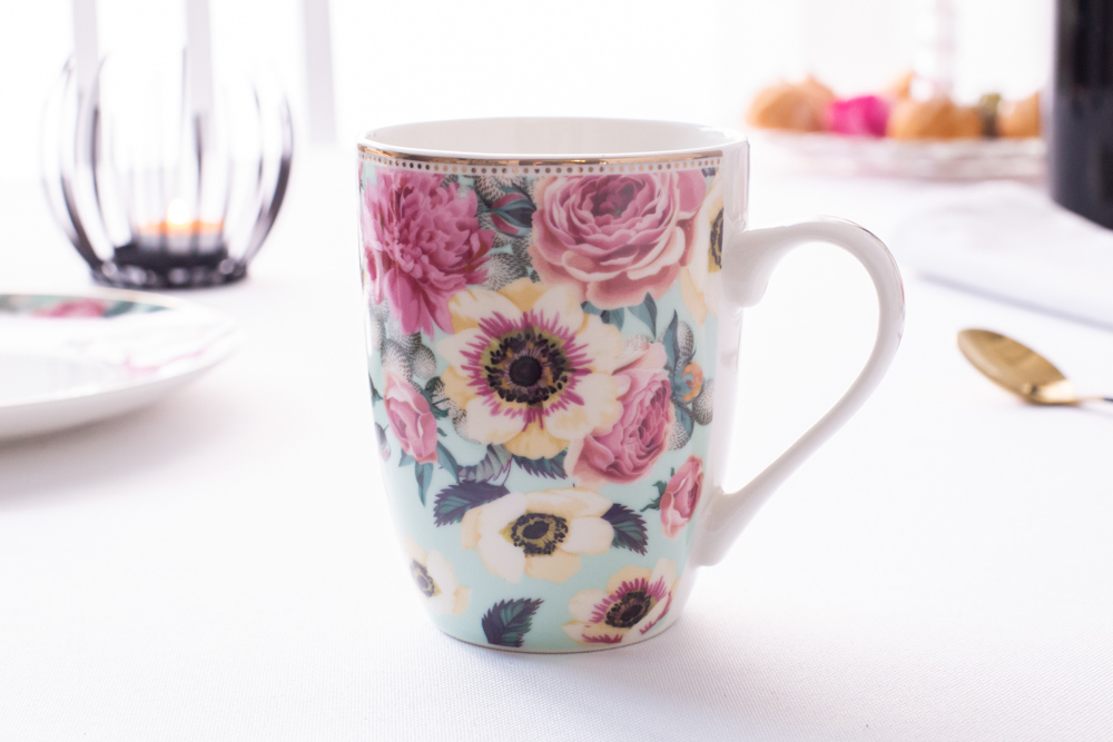 Anemon barrel mug 300 ml NBC mint