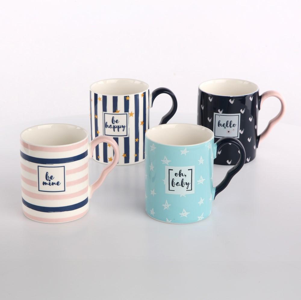 Kubek porcelanowy Altom Design Hello 350 ml