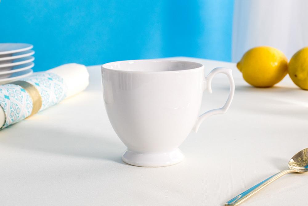 Filiżanka do kawy porcelana MariaPaula Biała 220 ml