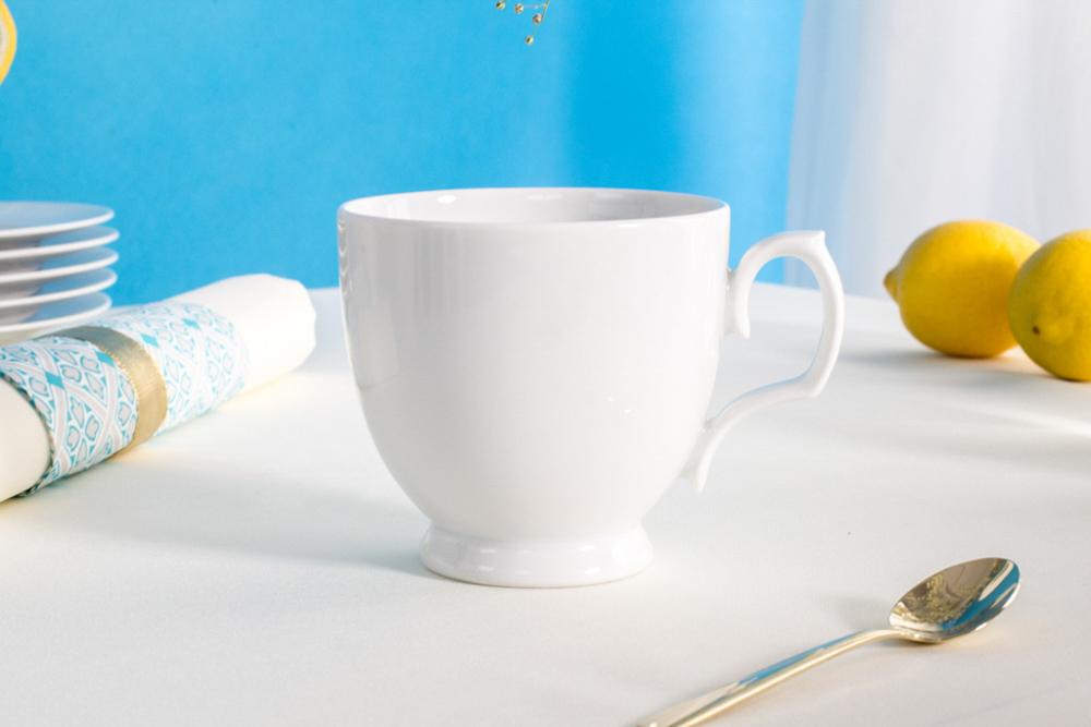 Filiżanka do cappuccino porcelana MariaPaula Biała 350  ml