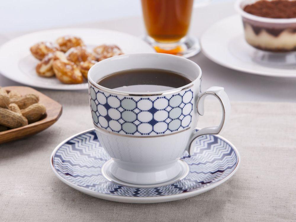 Filiżanka do cappuccino ze spodkiem porcelana MariaPaula Kantata