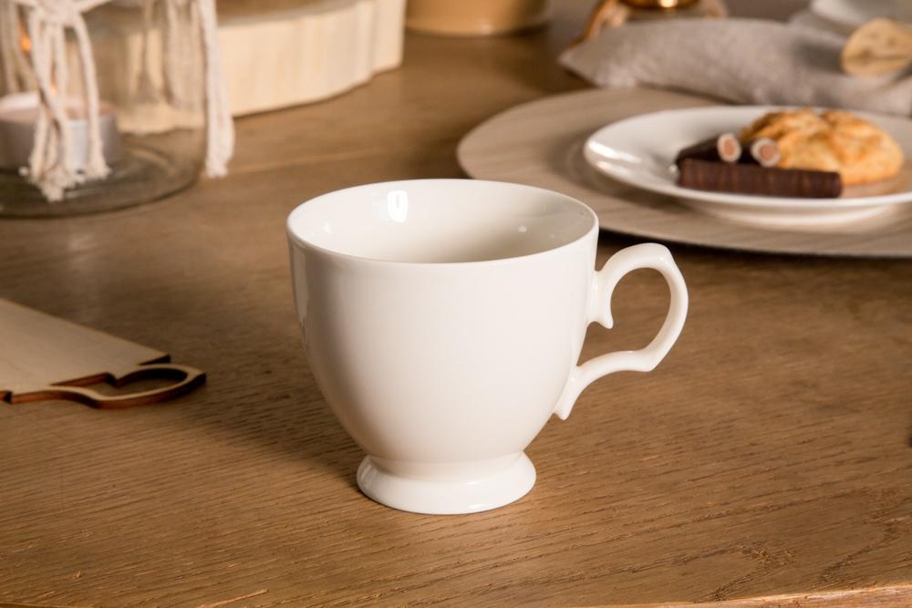 Filiżanka do kawy porcelanowa MariaPaula Ecru 220 ml