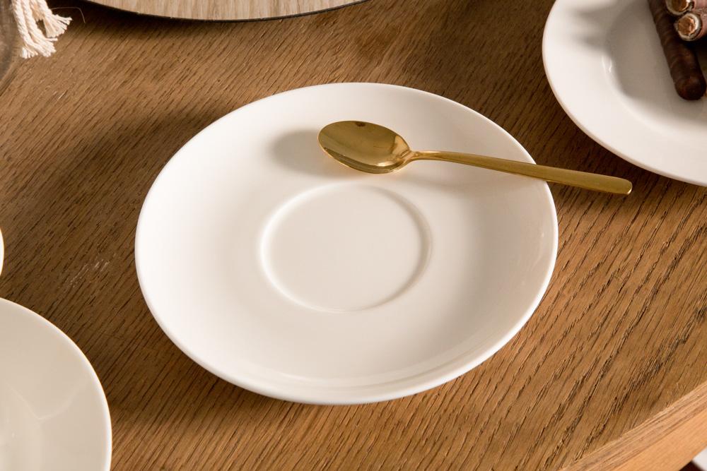 Spodek porcelana MariaPaula Ecru 17 cm