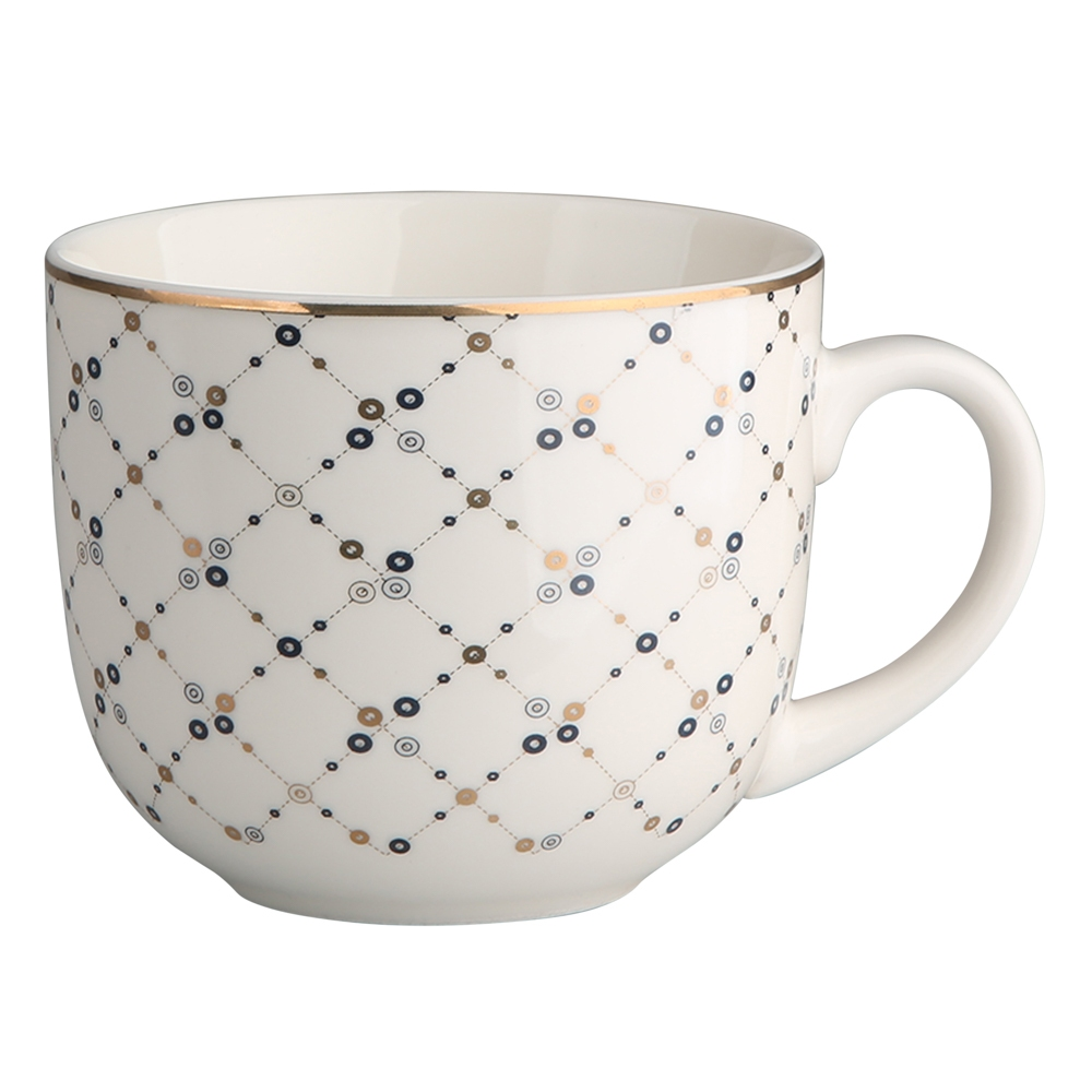 Duża filiżanka do kawy i herbaty porcelanowa Altom Design Megan 420 ml