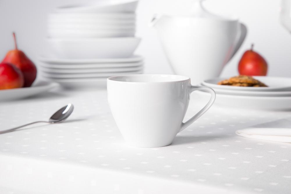 Filiżanka do kawy porcelana MariaPaula Moderna Biała 250 ml