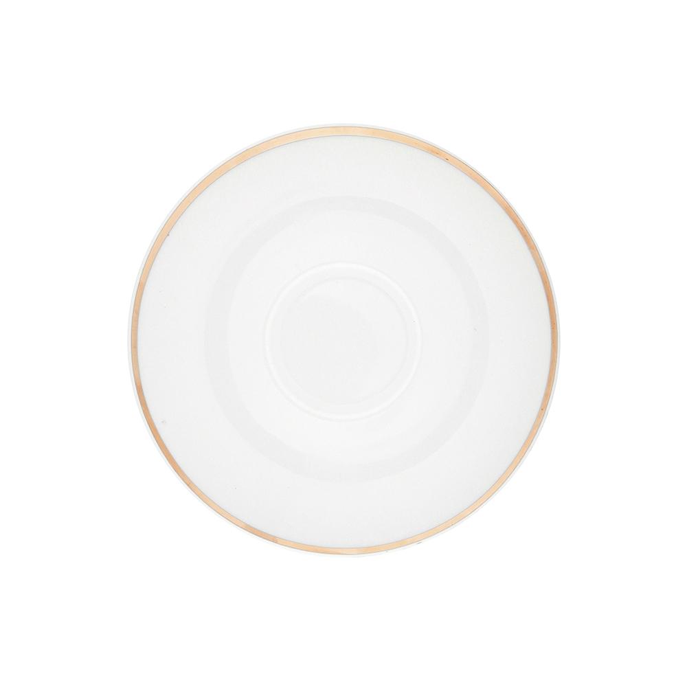 Spodek porcelana MariaPaula Moderna Gold 15,5 cm ze złotym zdobieniem