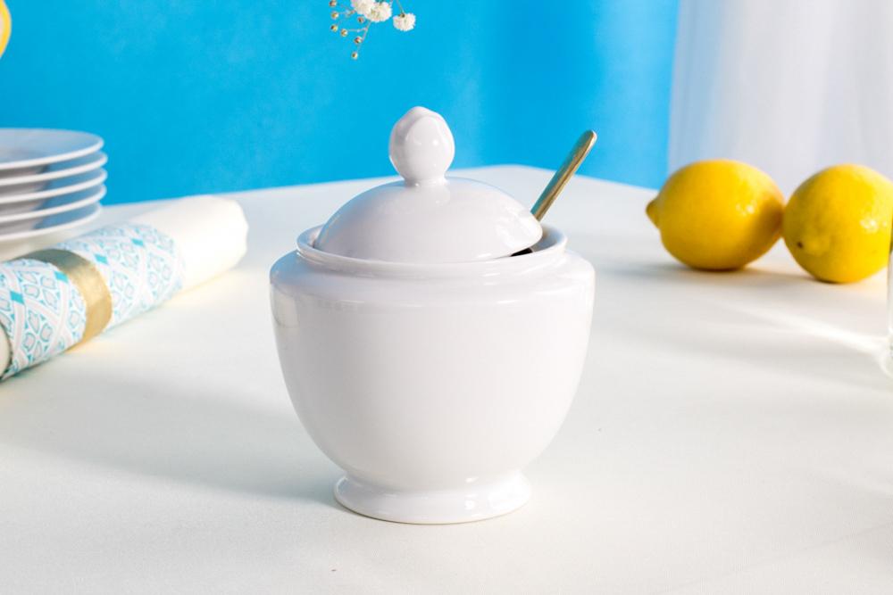Cukiernica porcelana MariaPaula Biała 330 ml