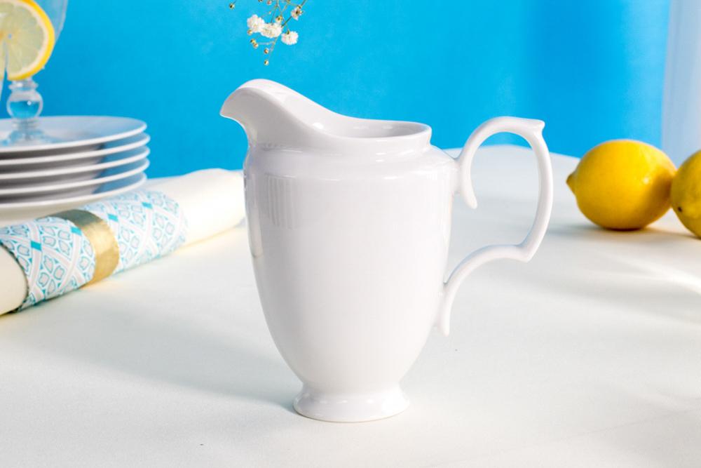 Mlecznik / Dzbanek do mleka porcelanowy MariaPaula Biała 300 ml