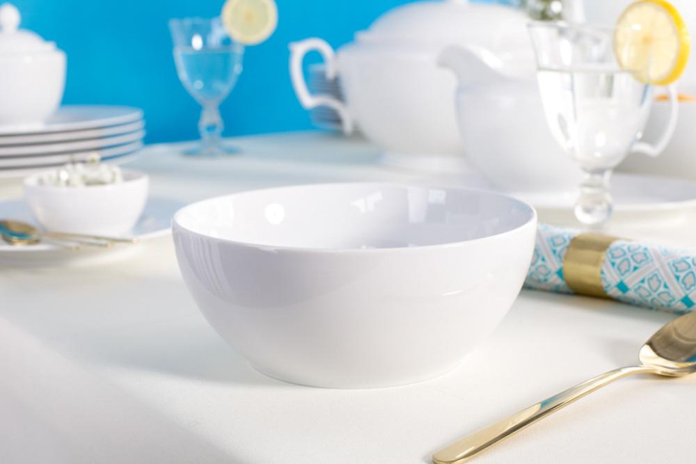 Miska / Salaterka porcelana MariaPaula Biała 17 cm
