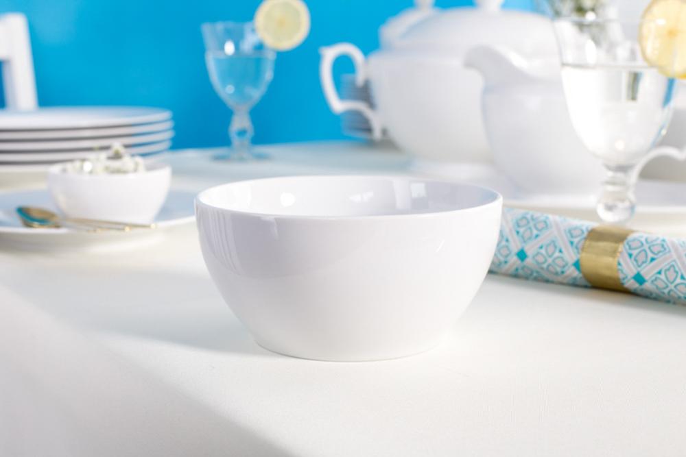 Miska / Salaterka porcelana MariaPaula Biała 14 cm