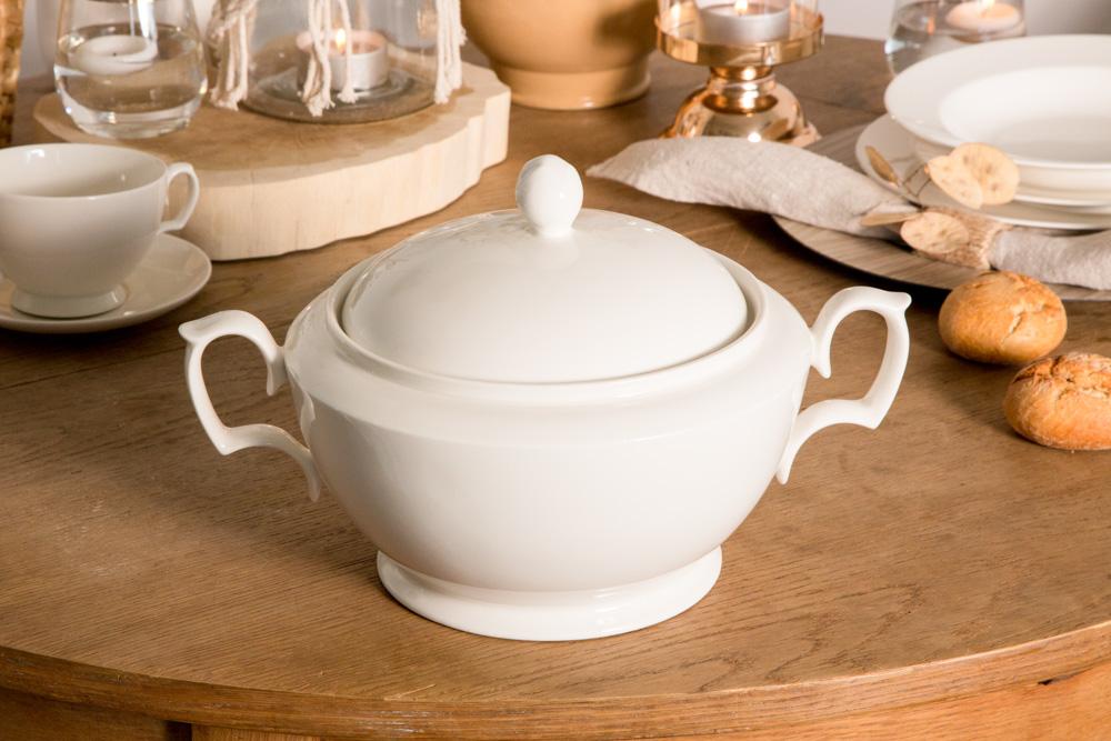 Waza do zupy porcelana MariaPaula Ecru 2,7l