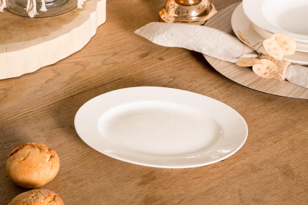 Rawier porcelana MariaPaula Ecru 24 cm