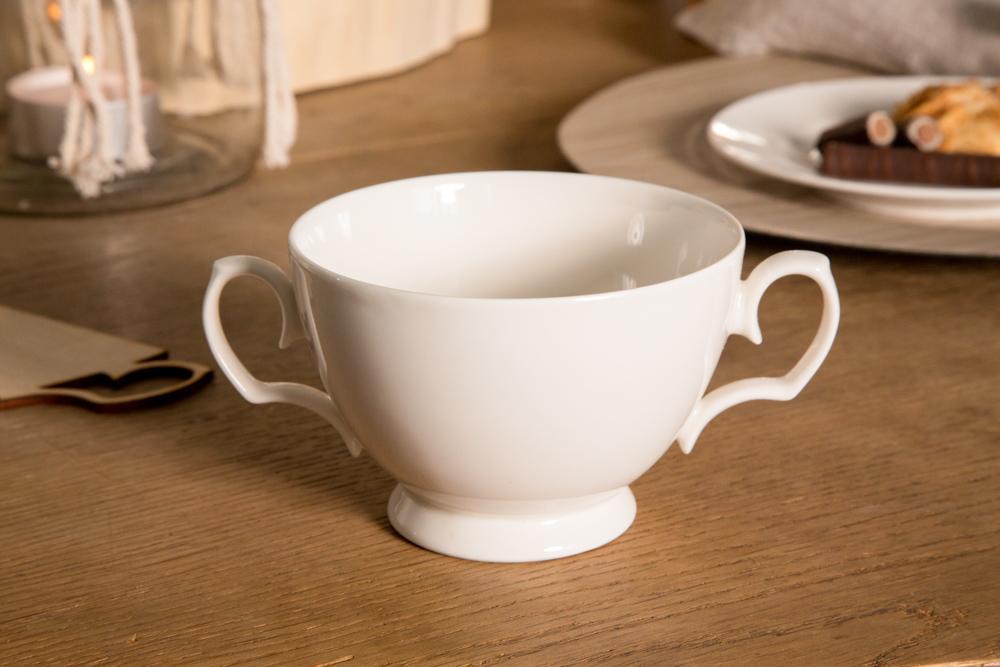 Bulionówka / flaczarka porcelanowa MariaPaula Ecru 350 ml
