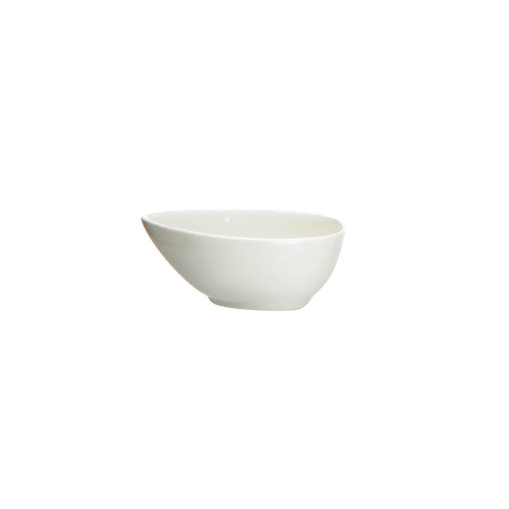 Miska / salaterka / miseczka do sipów / dipówka porcelana Altom Design Regular kropla 10 cm