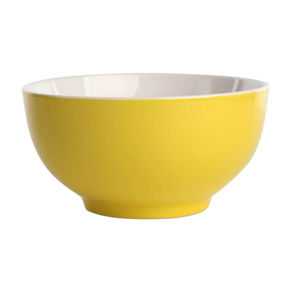 Miska / Salaterka Altom Design Monokolor żółty 14 cm
