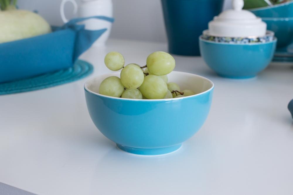 Miska / Salaterka porcelanowa Altom Design Turkusowa 14 cm