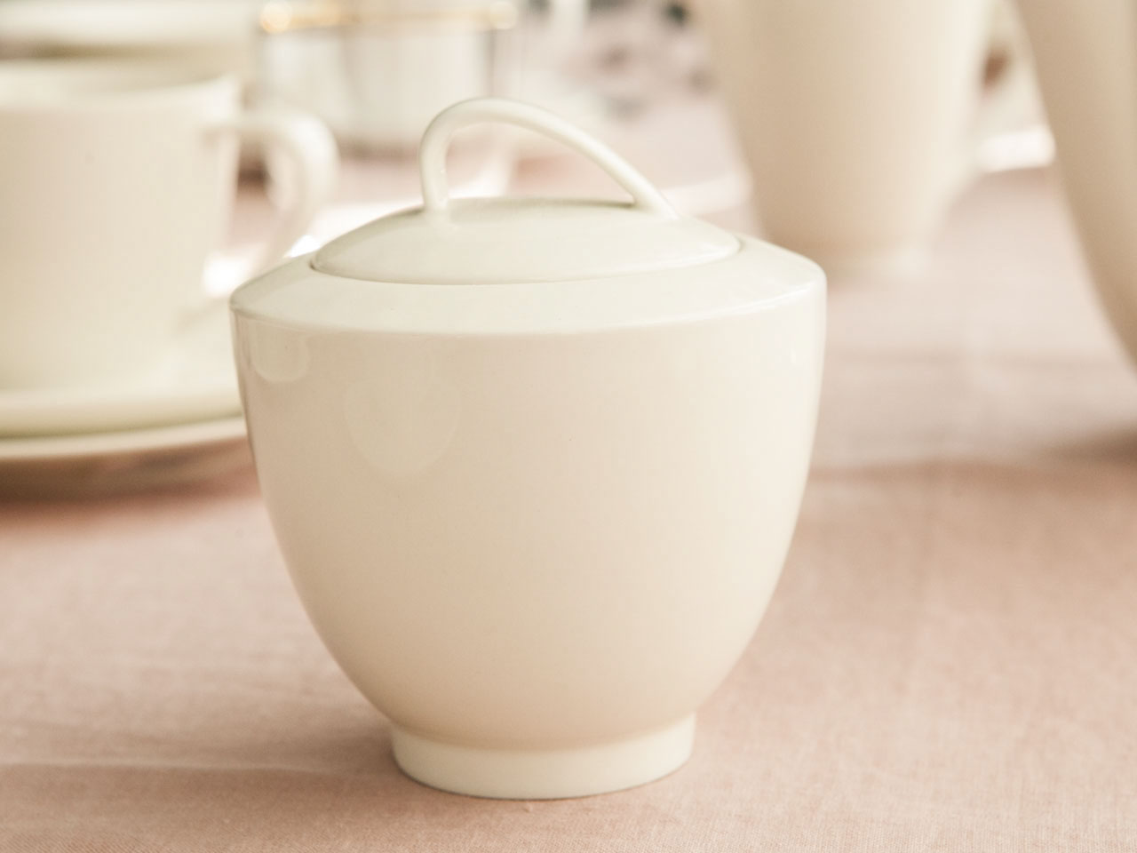 Cukiernica porcelanowa MariaPaula Ecru Nova 300 ml