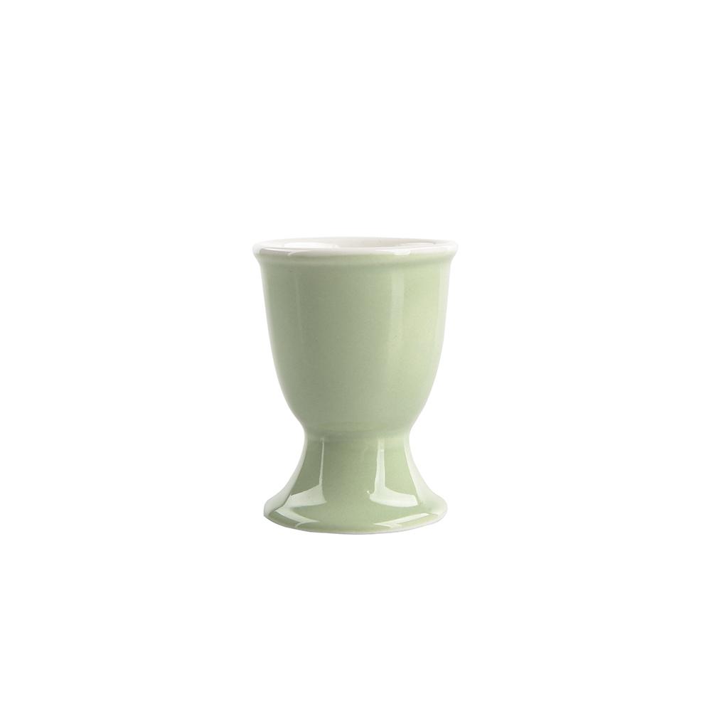 Kieliszek do jajka porcelanowy Monokolor Seledynowy