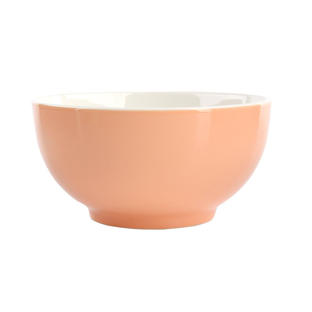 Miska / salaterka porcelanowa Altom Design Monokolor Łososiowy 14 cm