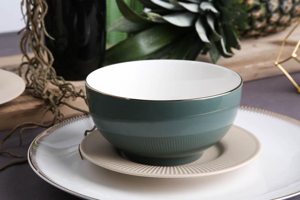Monokolor urban gold bowl 14cm 590ml