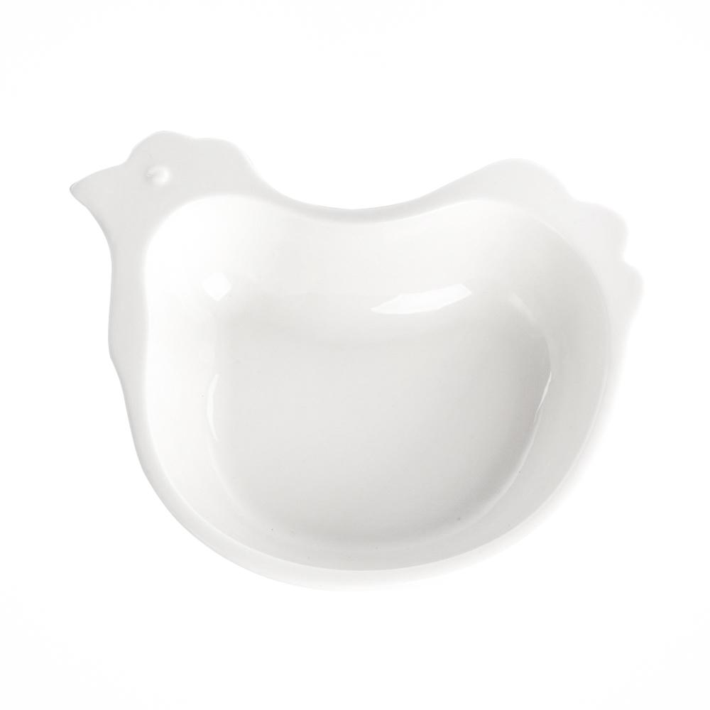 Talerz / miska / naczynie kurka porcelana święta Wielkanoc Altom Design 17,5 cm